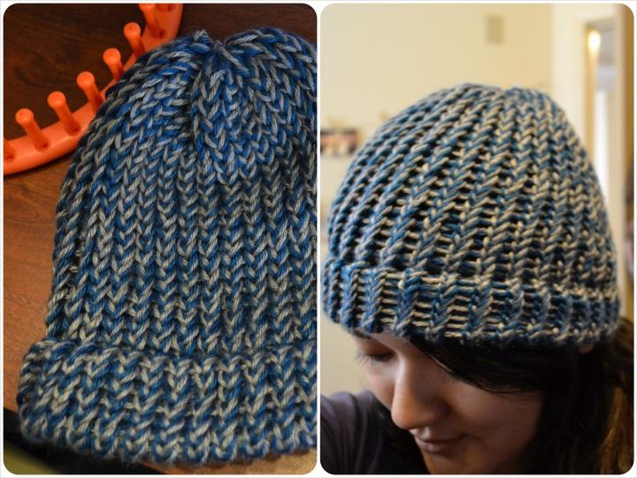 Loom Knitting: Ultra-SoftBeanie