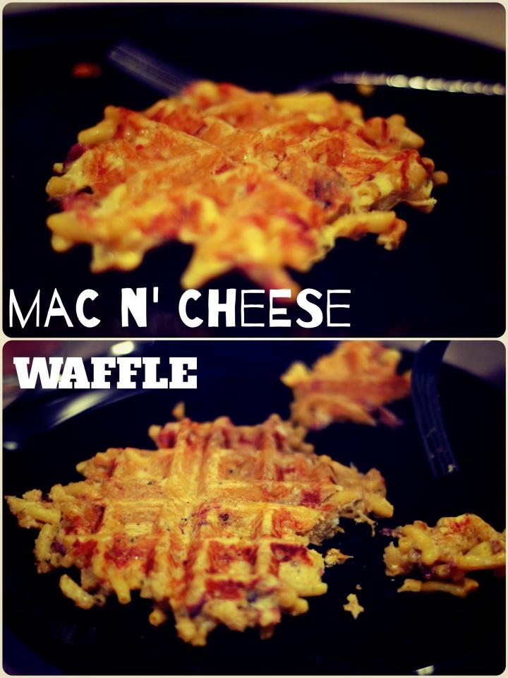 Mac n' CheeseWaffle