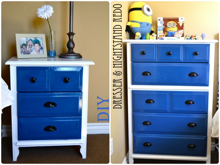Dresser & Nightstand Re-Do
