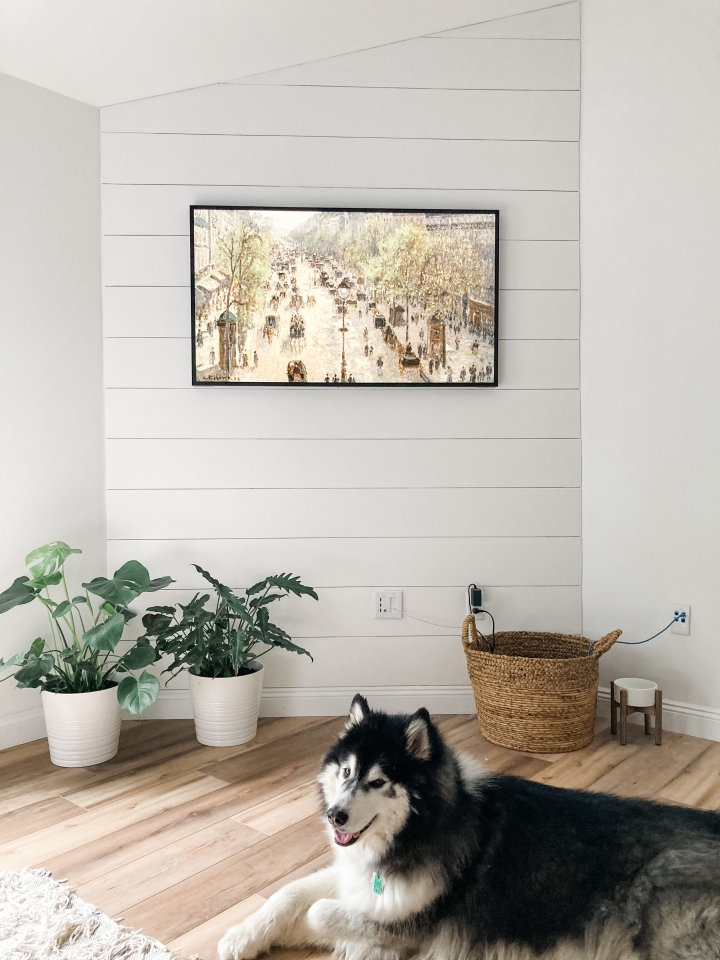 How to add (faux) shiplap to any wall