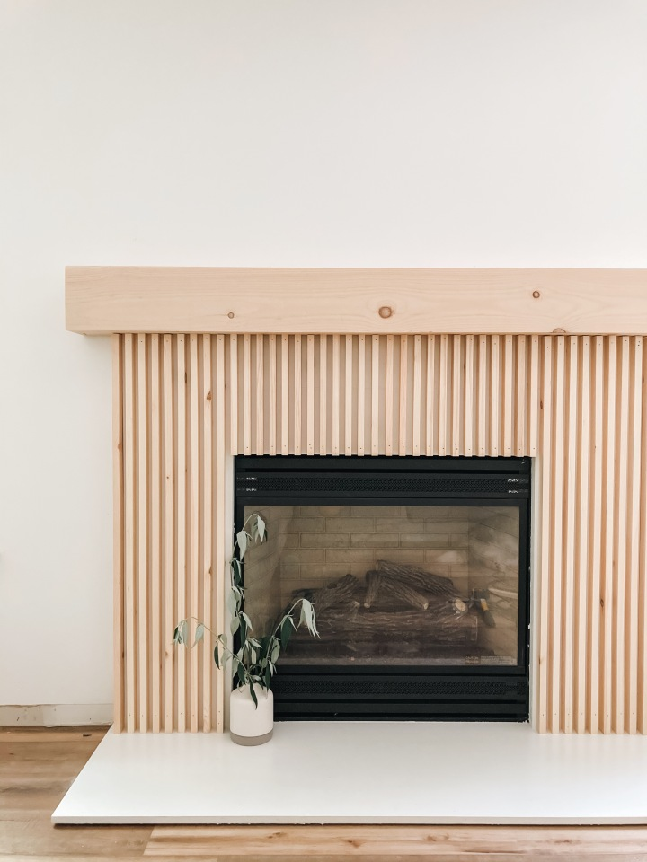 Fireplace Before &After