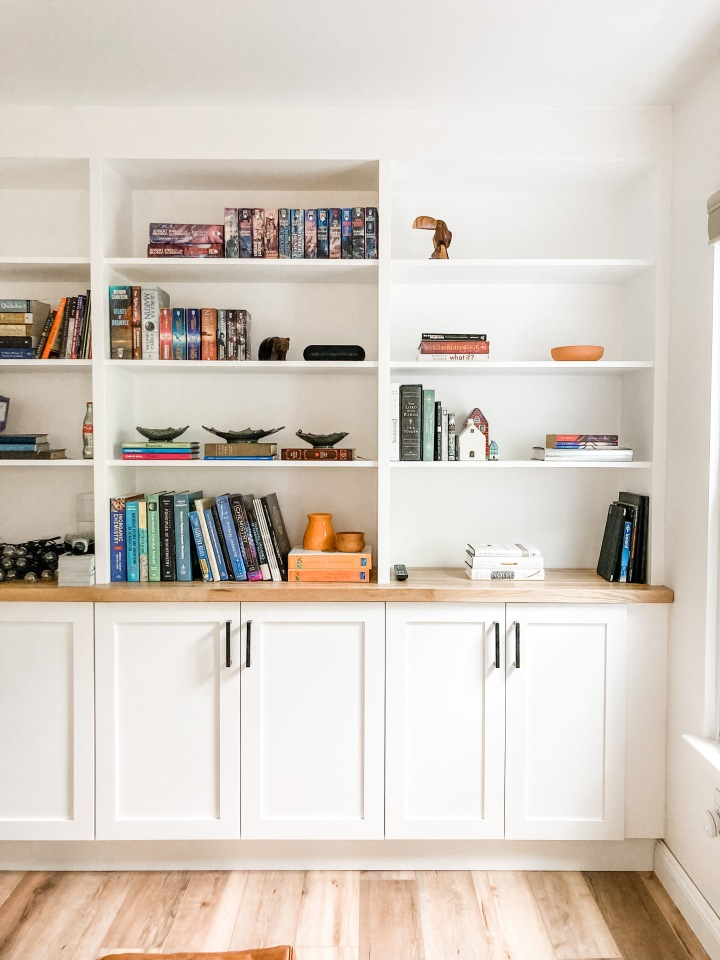 Floor to CeilingBookshelves